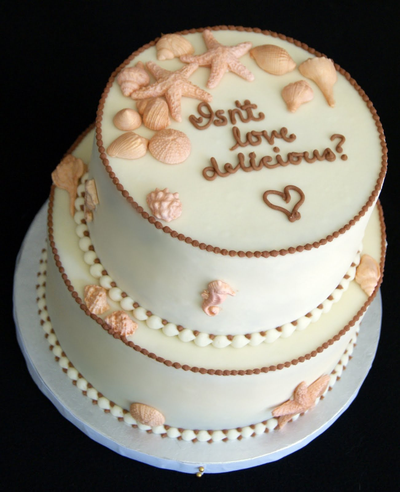Beach Bridal Shower Cakes Viewing Gallery